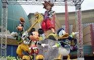 Kingdom Hearts Statue