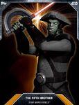 LASER-BURST-ORANGE-FIFTH-BROTHER-Topps-Star-Wars