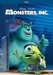 MonstersInc 2013 DVD