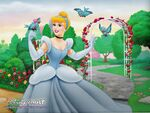 Cinderella -Spring Wallpaper- copy