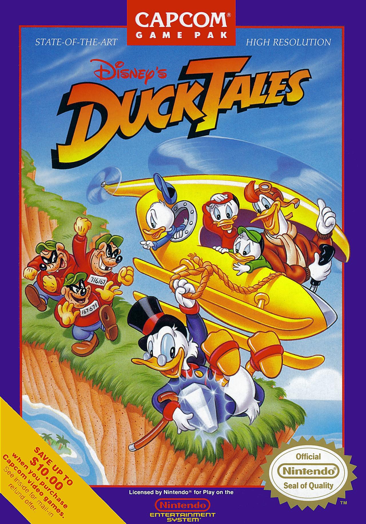 DuckTales (video game)   Disney Wiki   Fandom powered by Wikia