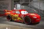 Lightning McQueen at the Petersen Automotive Museum