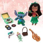 Disney Animators' Collection Lilo & Stitch Mini Doll Play Set