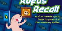 Rufus Recall Game