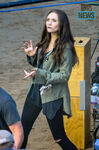 Scarlet Witch on set 2