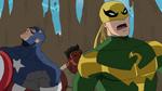 Iron Fist Captain America Red Hulk USMWW