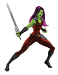 Gamora Animated Render 01