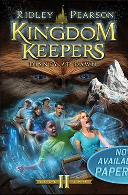 Kingdom Keepers II Disney At Dawn Alternate Cover