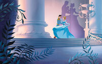Disney Princess Cinderella's Story Illustraition 11