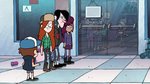 Dipper and Wendy's skeletons