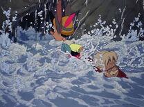 Pinocho rescata Geppetto