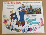 The sword in the stone reissue lobby card