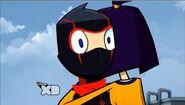 The Ninja Identity - Randy & Theresa hug 1