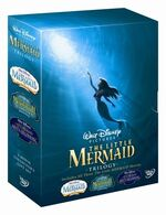 The Little Mermaid 1-3 Box Set 2008 UK DVD