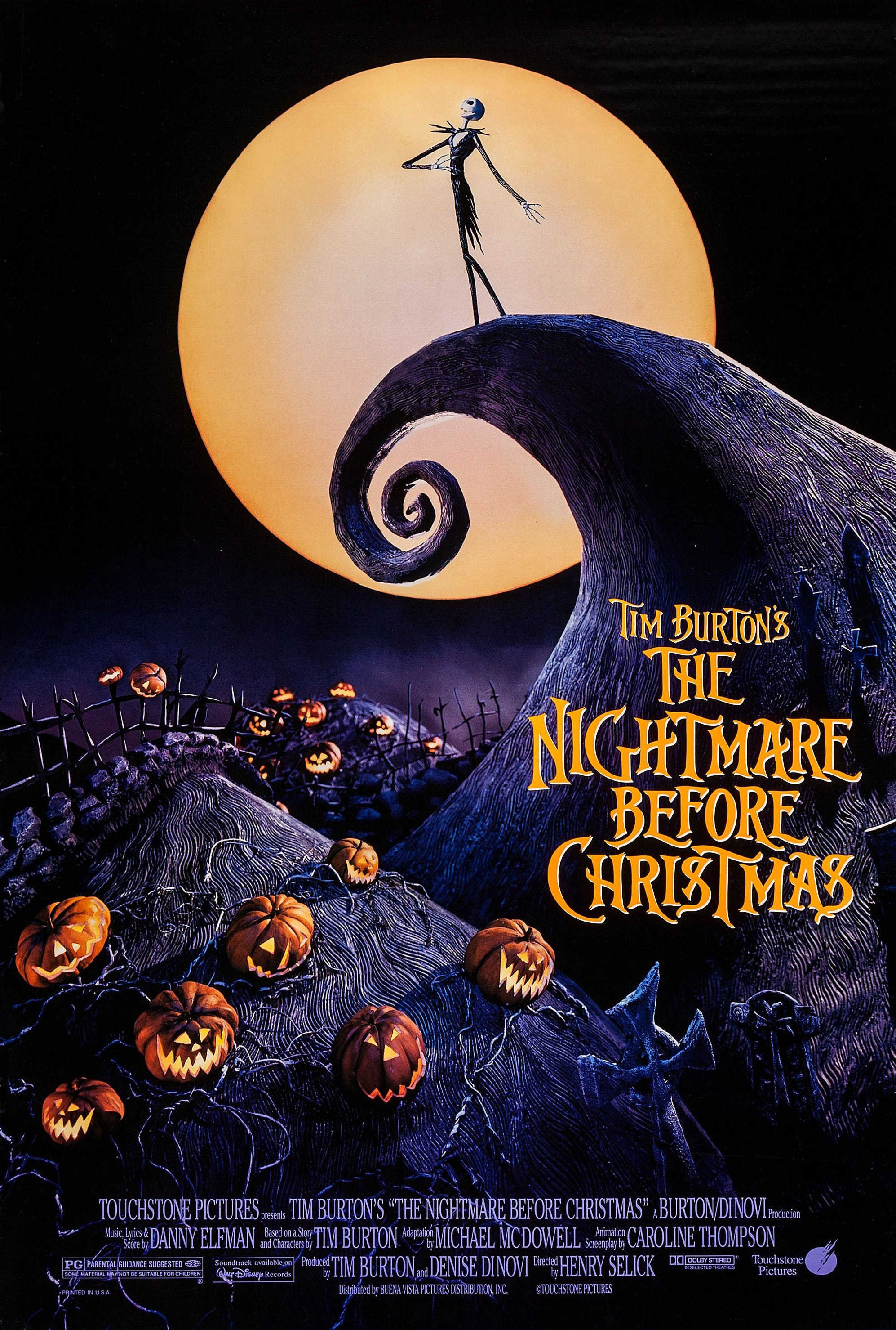 The Nightmare Before Christmas | Disney Wiki | FANDOM ...