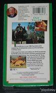 Walt Disney Studio Film Collection - Old Yeller VHS - (Rear)