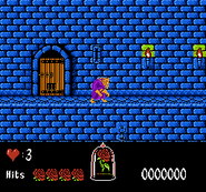 Beauty and the Beast NES Gameplay