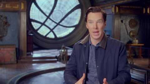 "Doctor Strange ""Dr Strange"" Behind The Scenes Interview - Benedict Cumberbatch"