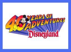 Dl 40th logo