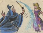 Cinderella and Fairy Godmother Concept Art 1
