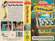 Zip a Dee Doo Dah UK VHS Cover