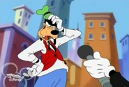 Goofy on Mouse on the Street