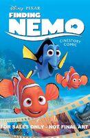Finding Nemo Cinestory Comic