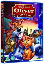 Oliver & Company 2009 UK DVD