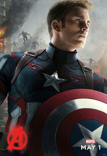 Captain America AOU Poster