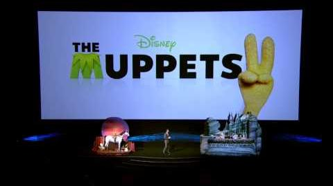 The Muppets 2 announced by Disney with Kermit and Miss Piggy at CinemaCon 2012