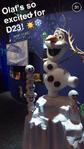 Olaf at D23