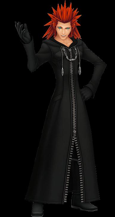 Lea - Disney Wi... Xemnas Kingdom Hearts Chibi