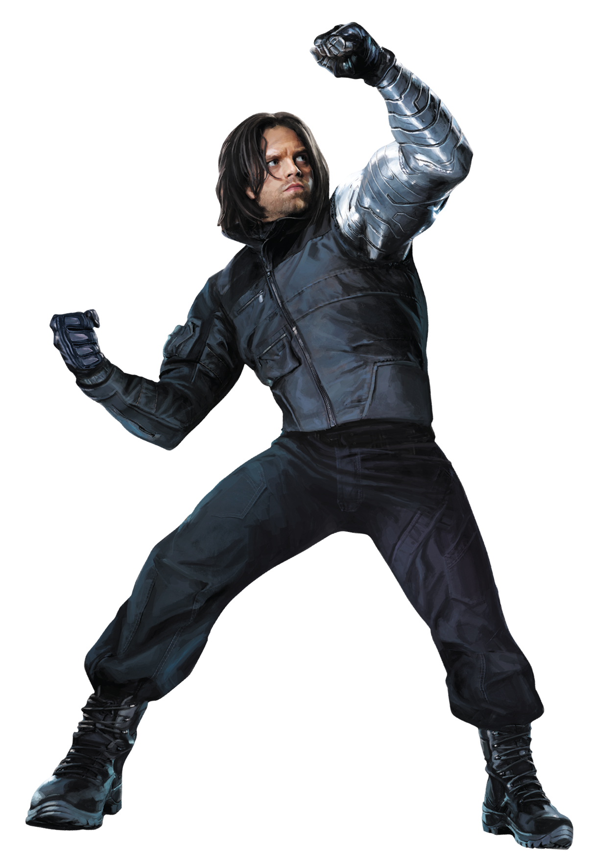 The Winter Soldier Bucky