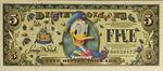 Disney donald duck dollar