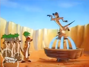 Timon and guards