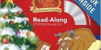 Beauty and the Beast: The Enchanted Christmas (Read-Along Storybook and CD)