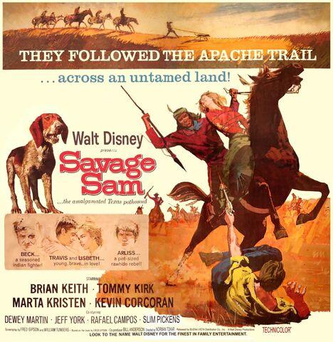 File:Savage Sam Poster.jpg
