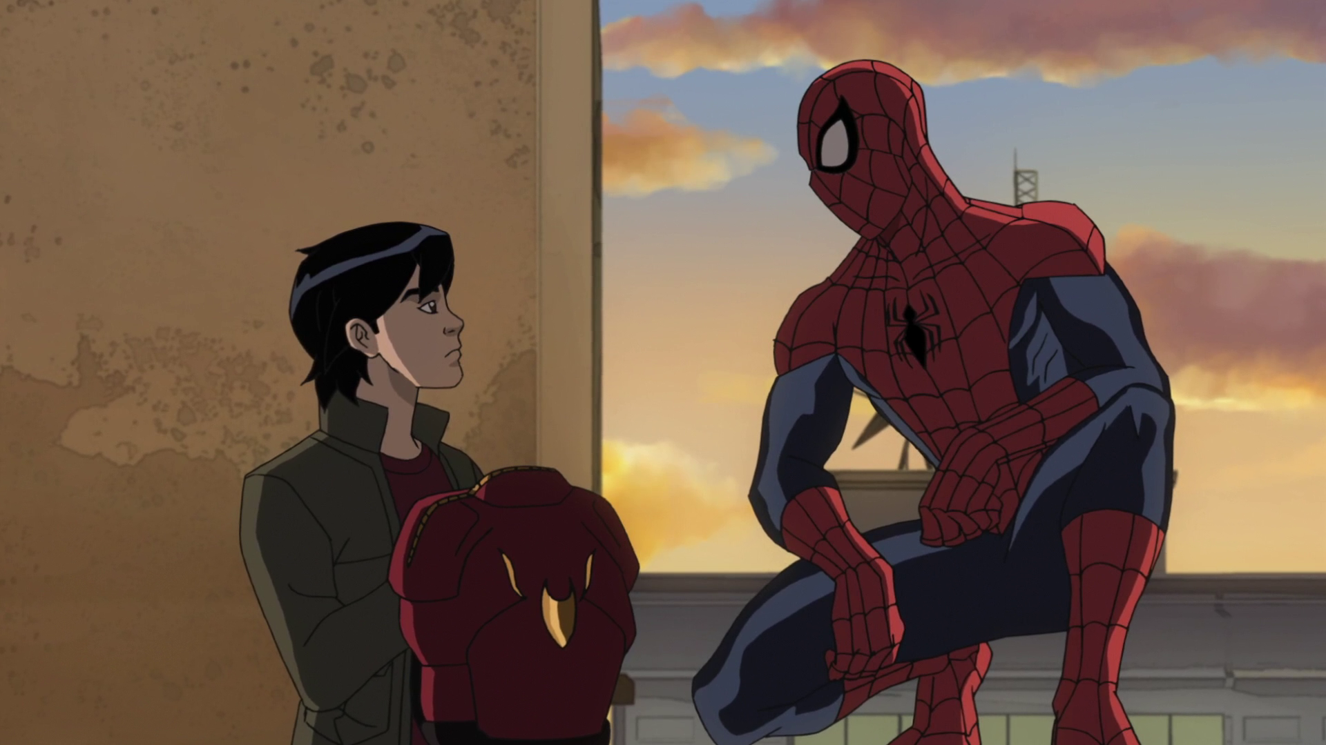 Image - Amadeus Cho and Spider-Man 2.png | Disney Wiki | Fandom ...