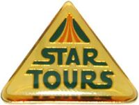 DLR - Star Tours Logo (Ivory)