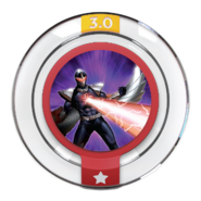 Disney INFINITY Darkhawk's Blast Power Disc