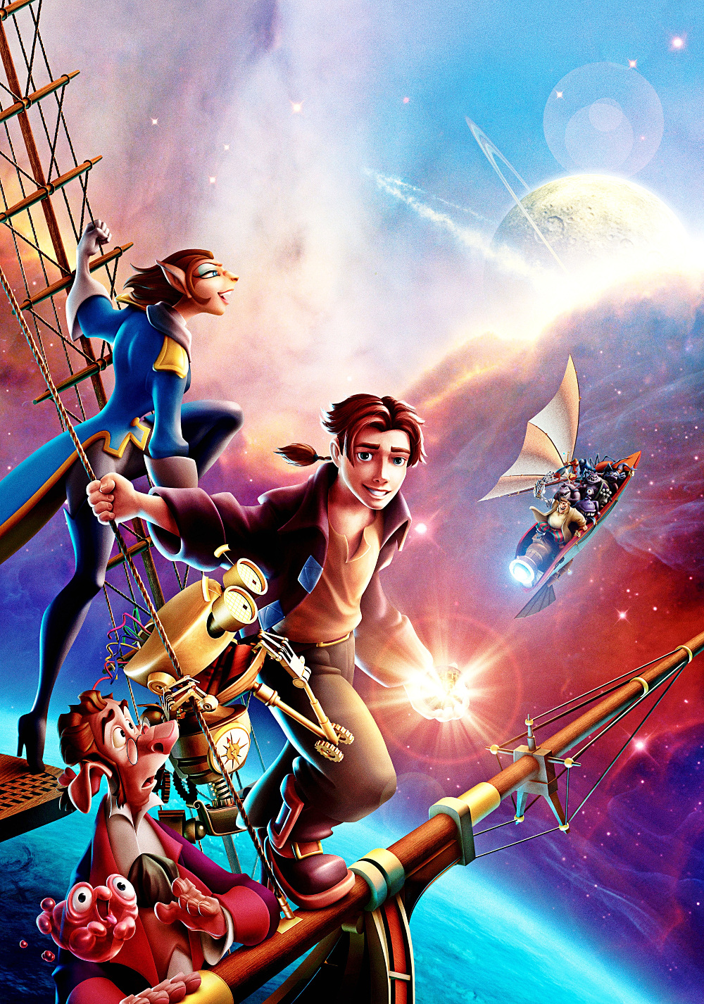 Image - Treasure Planet Poster 4.jpg | Disney Wiki ...