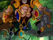 Jeweled baboons