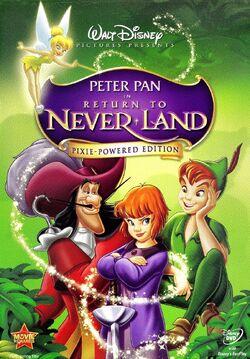 ReturntoNeverland PixiePoweredEdition DVD