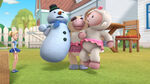 Moo moo lifts up lambie and chilly
