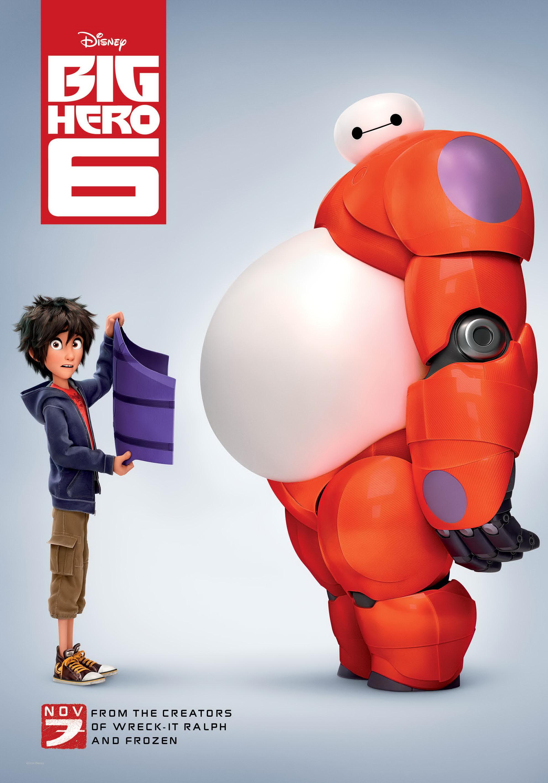 Risultati immagini per big hero 6 poster