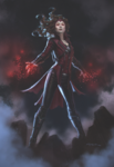 Captain America Civil War - Scarlet Witch - Concept Art