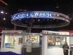 D23 Expo 2013 Tomorrowland Exhibit