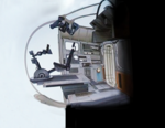 Ghost Cockpit Concept Art 2
