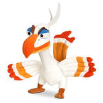 Zazu Plush The Lion King The Broadway Musical Bean Bag 9