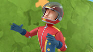 Stuntman steve with his helmet on
